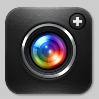camera plus 20 Examples of Detailed iOS Application Icon Designs
