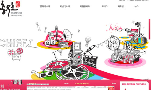 chiffs 25 Stunning Website Designs from Korea