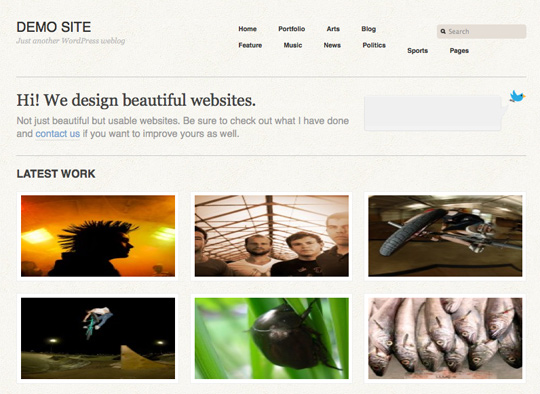minimal wordpress 91 35 Free Clean and Useful Minimal Wordpress Themes