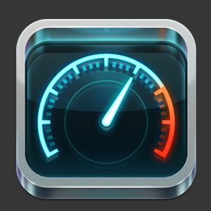 speedtest 20 Examples of Detailed iOS Application Icon Designs