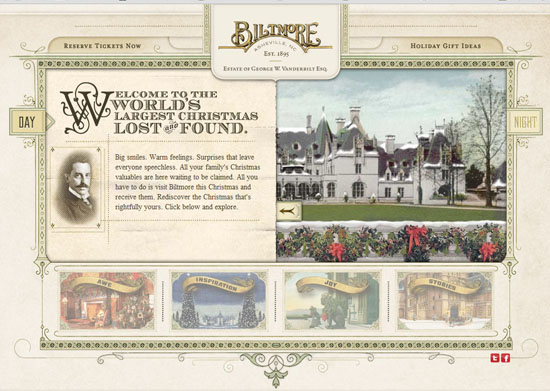 Biltmore 40 Vintage and Retro Web Design Inspirations