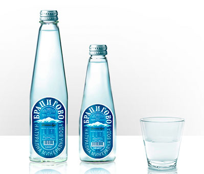 Bratsigovo Mineral Water 50 Fantastic Examples of Beverage Packaging Design