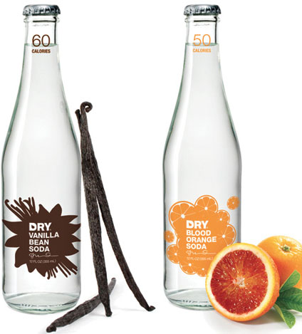 Dry Soda Company 50 Fantastic Examples of Beverage Packaging Design