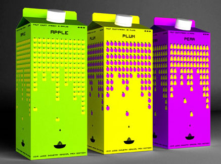 Fruit Invaders 50 Fantastic Examples of Beverage Packaging Design