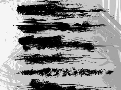 Illustrator Grunge Brushes 50 Beautiful Free Adobe Illustrator Vector Brushes