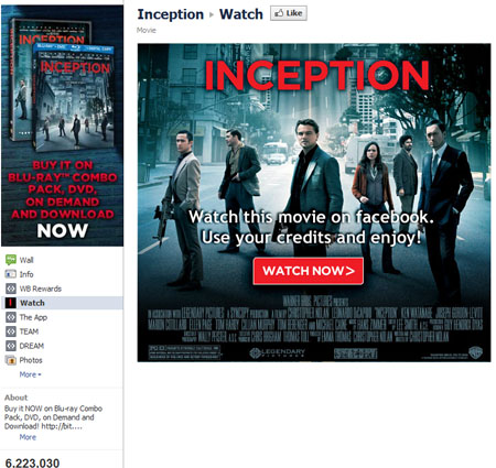 Inception 40 Facebook Fan Page Designs and Practices