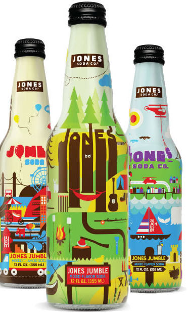 Jones Jumble Packaging 50 Fantastic Examples of Beverage Packaging Design