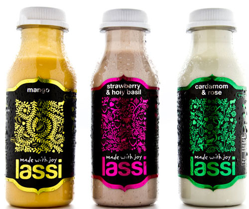 Made With Joy Lassi 50 Fantastic Examples of Beverage Packaging Design
