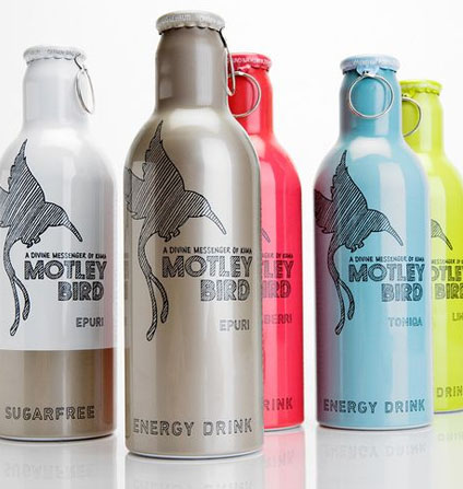 Motley Bird 50 Fantastic Examples of Beverage Packaging Design