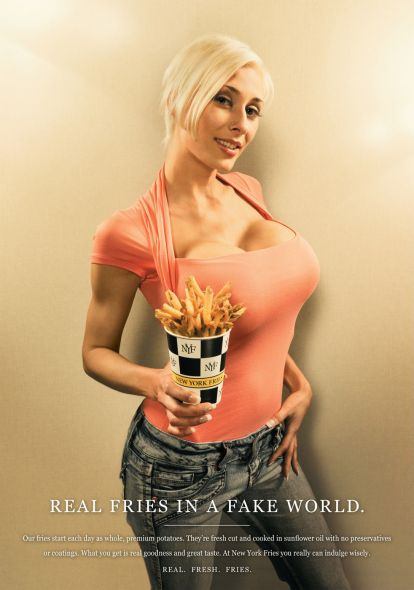 NYF Busty.preview1 Sex Sells, 50 Creative Sexual Advertisements