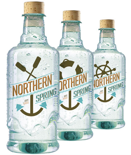 Northern Spring Water 50 Fantastic Examples of Beverage Packaging Design