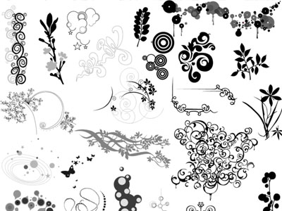 Ornaments 50 Beautiful Free Adobe Illustrator Vector Brushes