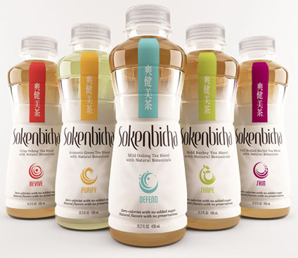 Sokenbicha 50 Fantastic Examples of Beverage Packaging Design