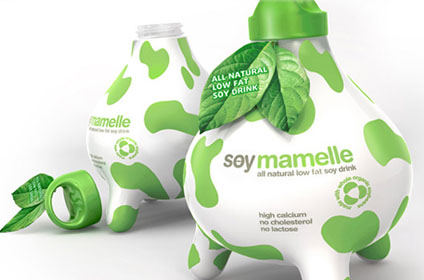 Soy Mamelle 50 Fantastic Examples of Beverage Packaging Design
