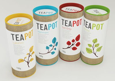 Teapot 50 Fantastic Examples of Beverage Packaging Design