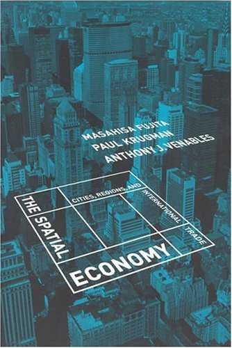 The Spatial Economy.large1  45 Simple Yet Engaging Book Cover Designs