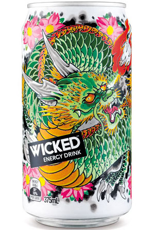 Wicked Energy Drink 50 Fantastic Examples of Beverage Packaging Design