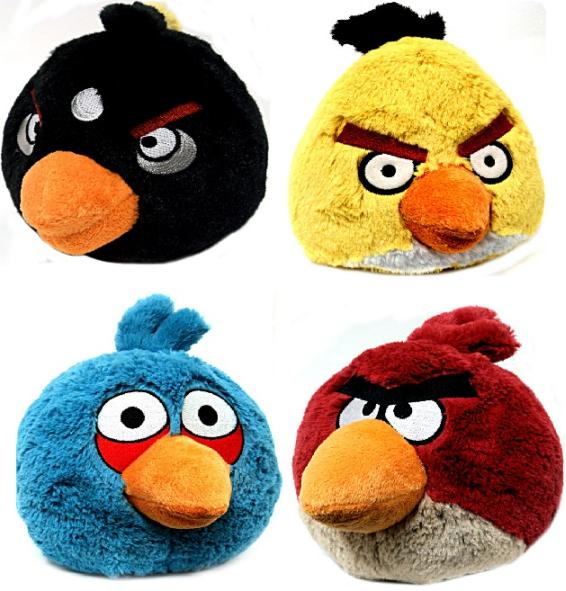 angry birds game collection angry birds plush toys 11 30 Amazing Fan Inspired Angry Bird Artworks