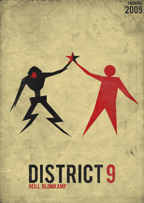 district 91 70 Powerful Examples of Minimal Movie Poster Designs