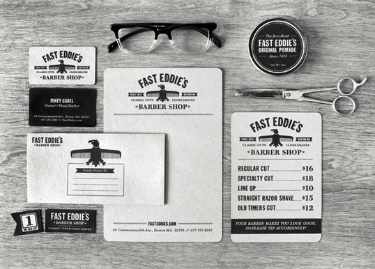 fasteddies11 35 Perfect Examples Of Branding Design