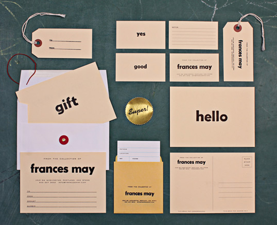 francesmay11 35 Perfect Examples Of Branding Design