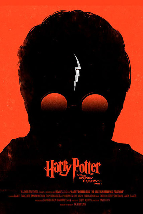 harry1 70 Powerful Examples of Minimal Movie Poster Designs