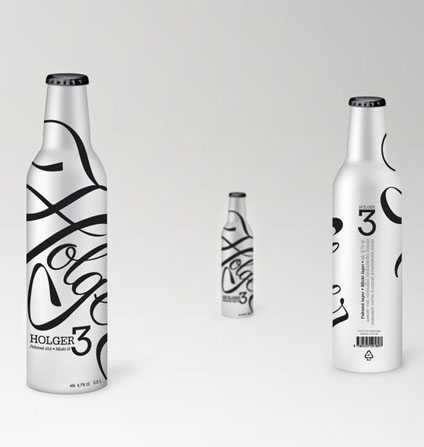 holger3 50 Fantastic Examples of Beverage Packaging Design