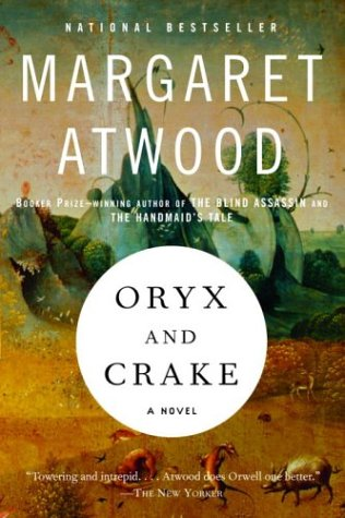 oryx and crake.large1  45 Simple Yet Engaging Book Cover Designs