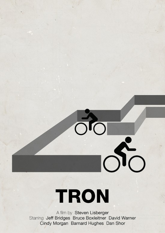 pictogram movie posters6 550x7771 70 Powerful Examples of Minimal Movie Poster Designs