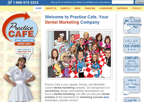 practicecafe 40 Vintage and Retro Web Design Inspirations
