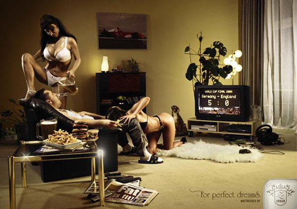 sexy ads ziegler mans dream1 Sex Sells, 50 Creative Sexual Advertisements