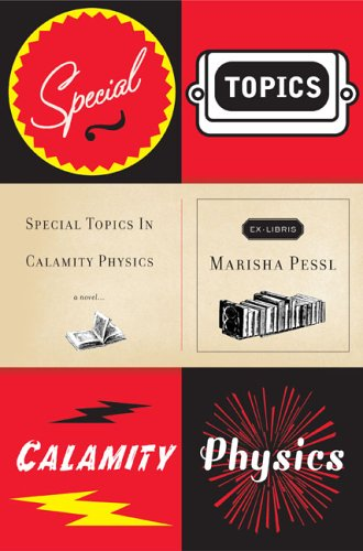 special topics in calamity physics.large1  45 Simple Yet Engaging Book Cover Designs