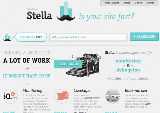 stella 40 Vintage and Retro Web Design Inspirations