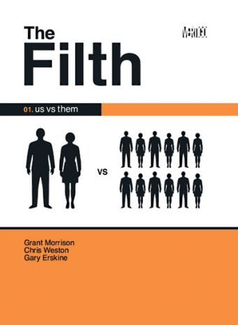 the filth.large1  45 Simple Yet Engaging Book Cover Designs