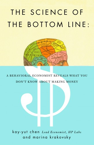 the science of the bottom line.large1  45 Simple Yet Engaging Book Cover Designs