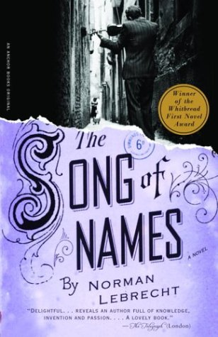 the song of names.large1  45 Simple Yet Engaging Book Cover Designs