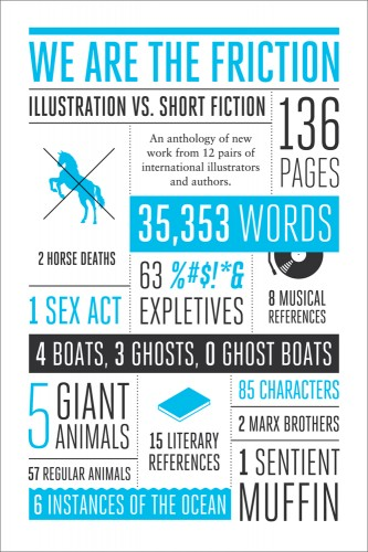 we are the friction.large1  45 Simple Yet Engaging Book Cover Designs