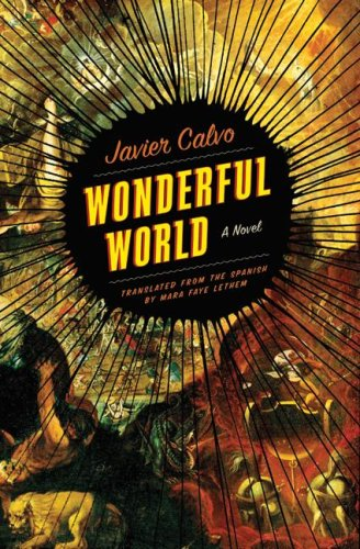 wonderful world a novel.large1  45 Simple Yet Engaging Book Cover Designs