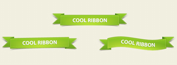 Cool Ribbon Green Pack 50 Stunning Pixel Perfect PSD Freebies