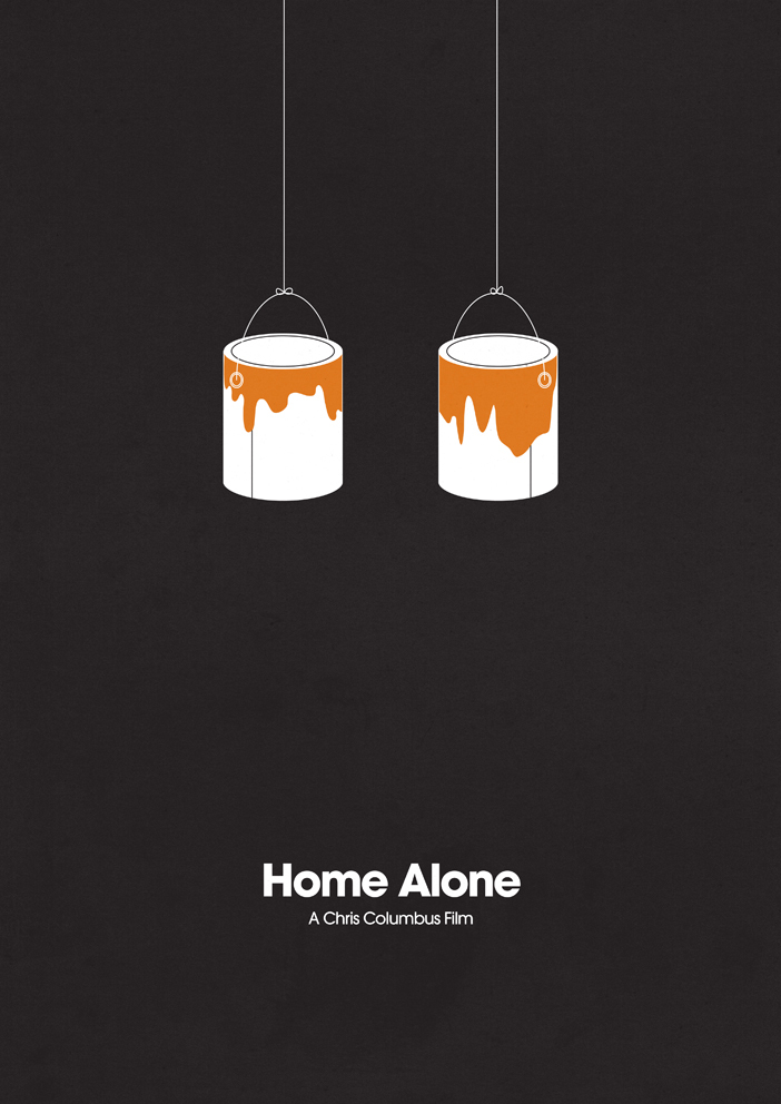 HomeAlonesmall1 70 Powerful Examples of Minimal Movie Poster Designs