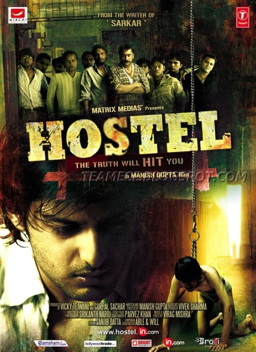 Hostel 30 Best Examples of Bollywood Movie Posters