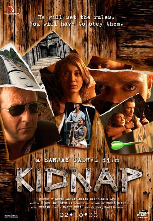 Kidnap 30 Best Examples of Bollywood Movie Posters