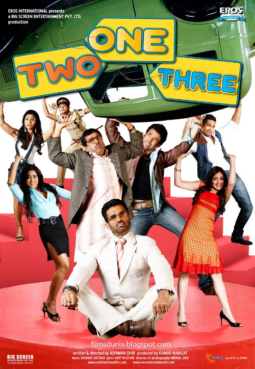 One Two Three 30 Best Examples of Bollywood Movie Posters