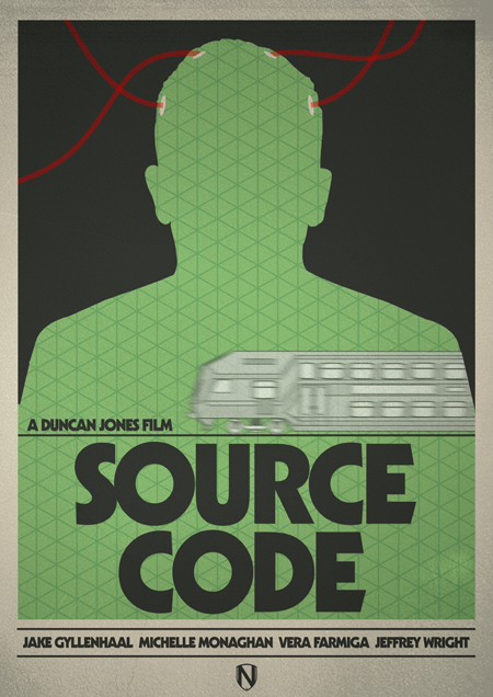 SOURCE CODE1 70 Powerful Examples of Minimal Movie Poster Designs