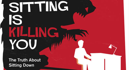 Sitting is Killing You 55 Striking Data Visualization and Infographic Poster Designs