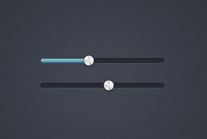Slider Interface Metal Handle 50 Stunning Pixel Perfect PSD Freebies