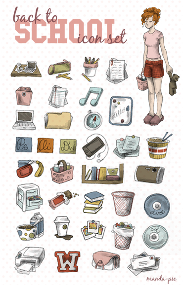 back to school icon set by manda pie d2ackcq1 30 Creative Free Hand Drawn Icon Sets