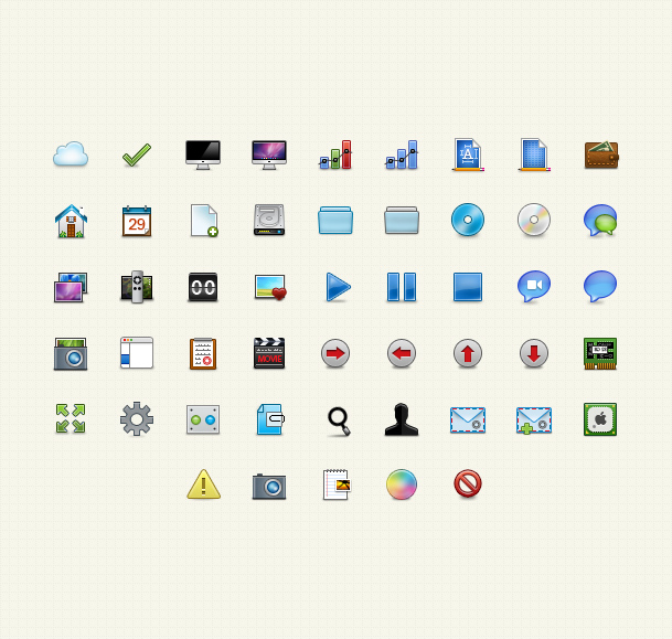 basal icons preview1 50 Stunning Pixel Perfect PSD Freebies