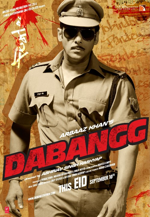 dabang 30 Best Examples of Bollywood Movie Posters