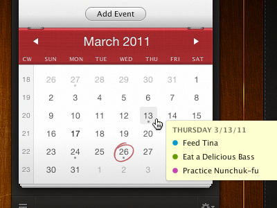 fantastical1 60 User Interface Calendar Inspirations and Downloads